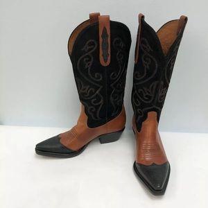 Selling Nine West Cowboy Western Boots Women .